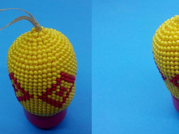 Вяжем бисером брелок и елочную игрушку «Ромбы»: видео мастер-класс | Ярмарка Мастеров - ручная работа, handmade