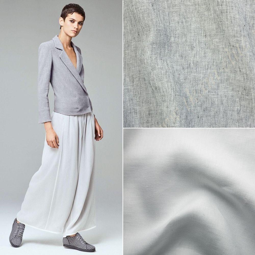 лен, летние ткани, ткани для одежды
