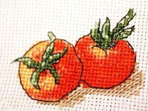 Овощное ассорти: вышитые идеи для кухни. Ярмарка Мастеров - ручная работа, handmade.