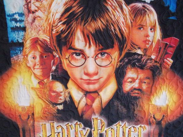 Гарри Поттер и философский камень  - новое текстильное панно. | Ярмарка Мастеров - ручная работа, handmade