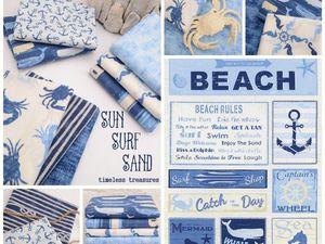 Морское одеяло (фото) | Ярмарка Мастеров - ручная работа, handmade