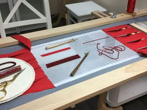 Люневильская вышивка для начинающих | Ярмарка Мастеров - ручная работа, handmade