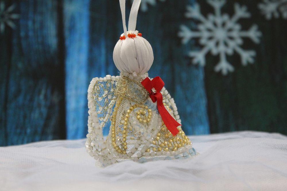люневильский крючок, вышивка ручная, вышивка пайетками, рождественский декор, рождество, мастер-класс