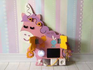 Бизиборд: купить в интернет-магазине или сделать своими руками?. Ярмарка Мастеров - ручная работа, handmade.