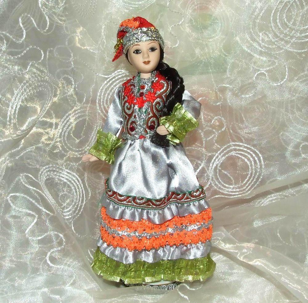 куклы в татарских народных костюмах картинки магазин