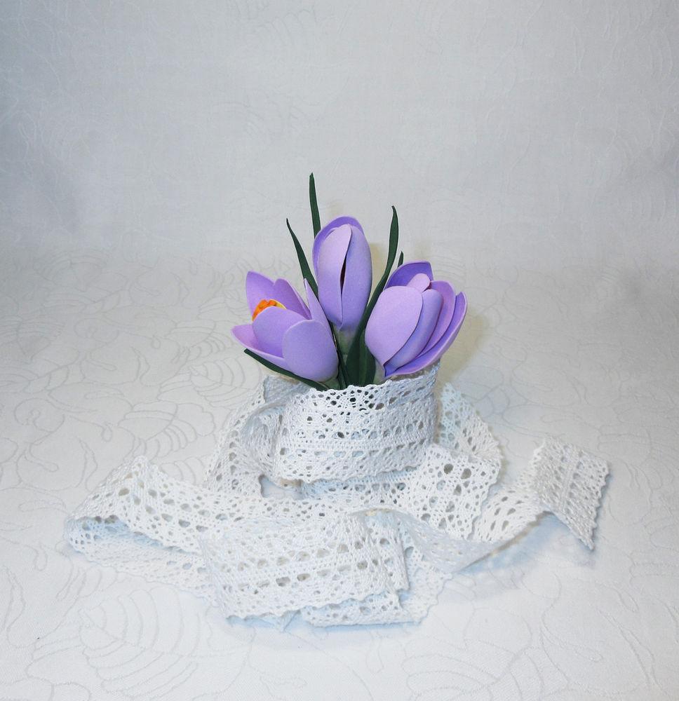 весна пришла, цветы ручной работы