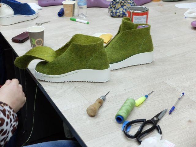 мастеркласс москва, мк по валянию, обувь ручной работы, ботночки