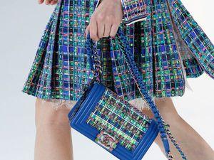 Chanel spring-summer 2017, или Чудеса от Лагерфельда | Ярмарка Мастеров - ручная работа, handmade