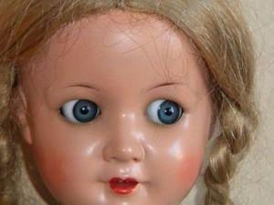 Винтажная девчушка из композита, K&amp&#x3B;W молд 144/5 ,дополнительные фото. Ярмарка Мастеров - ручная работа, handmade.