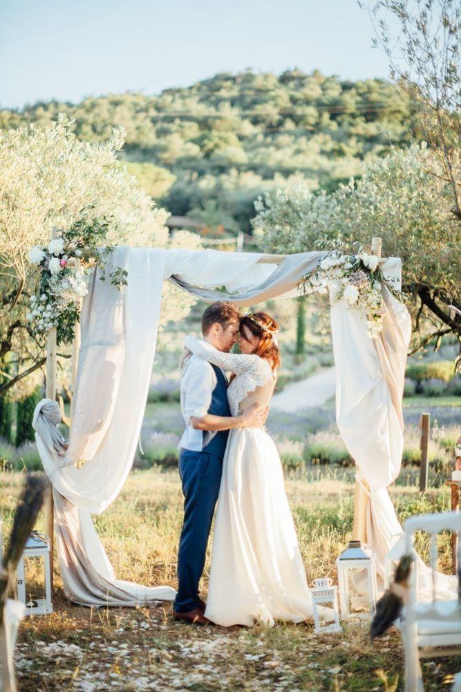 прованс платье невесты