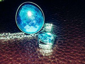 Темный гримуар. Сила голубого стекла. Примеры артефактов. Ярмарка Мастеров - ручная работа, handmade.