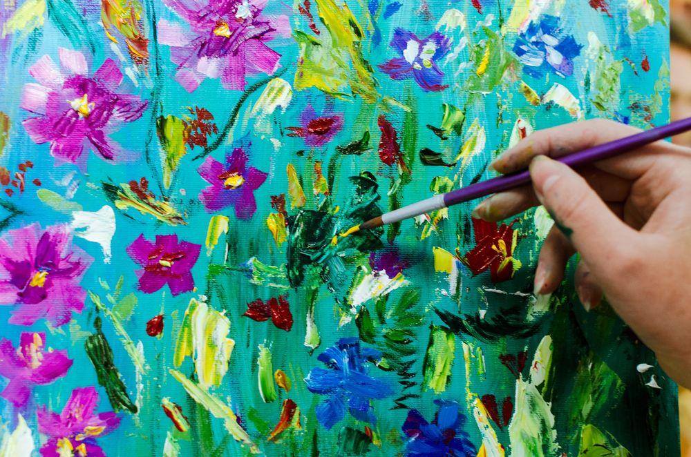 учимся рисовать, творчество