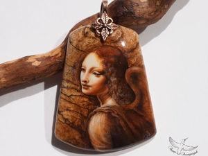 Лучший подарок к НГ 2017! Участвую с ангелом Леонардо да Винчи!   Ярмарка Мастеров - ручная работа, handmade