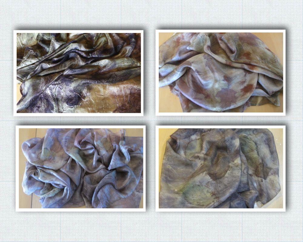 вебинар экоокрашивание, шелковый принт, принт своими руками, онлайн экоокрашивание, felt studio demoiselle, создание тканей