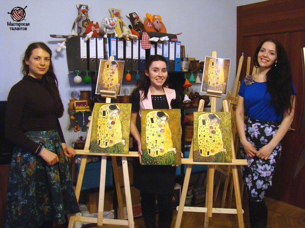 мастер класс по живописи, творческая студия