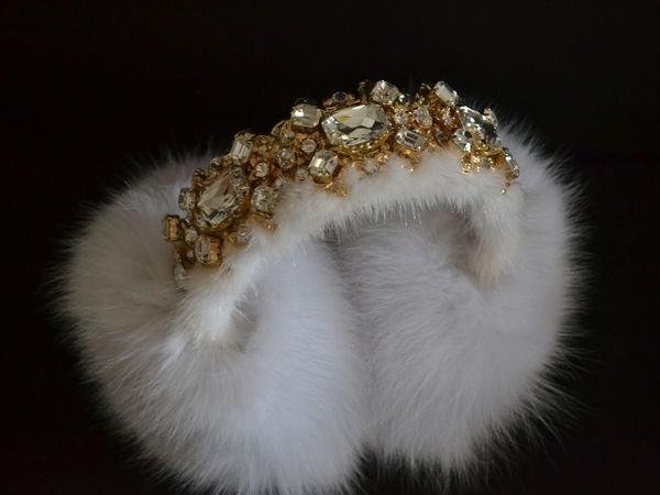 Наушники  White Diamonds   Ярмарка Мастеров - ручная работа, handmade