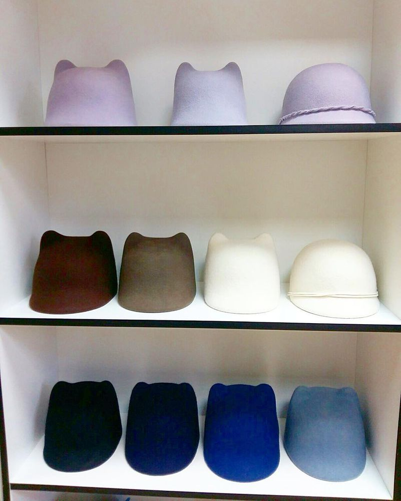 акция магазина, шляпа с ушками, фетровая шляпа, sale 10%, шляпа из фетра