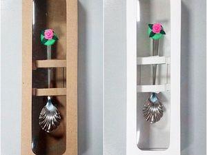 Коробочки для ложек. Ярмарка Мастеров - ручная работа, handmade.