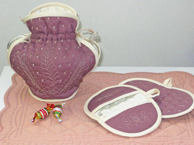 грелка на чайник, текстиль для кухни