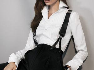 Деловое решение — мужской стиль в женской моде. Ярмарка Мастеров - ручная работа, handmade.