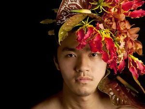 «Прически» для мужчин и женщин от японского флориста Takaya Hanayuishi. Ярмарка Мастеров - ручная работа, handmade.