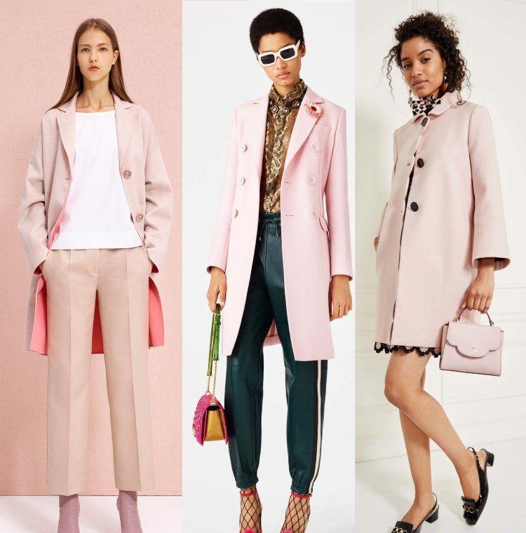 Пальто женские 2017 года модные тенденции