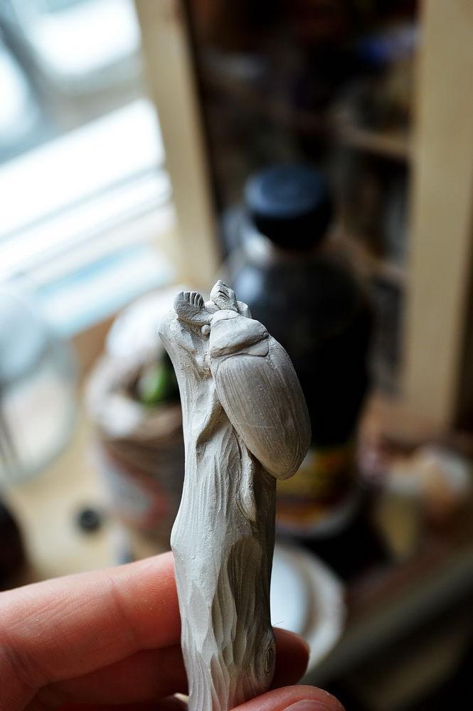 жук, скульптура