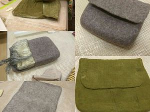 МК по валянию сумки. Отчет | Ярмарка Мастеров - ручная работа, handmade