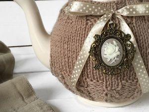 БЕСПЛАТНАЯ доставка чайников и свитеров на бутылки.. Ярмарка Мастеров - ручная работа, handmade.