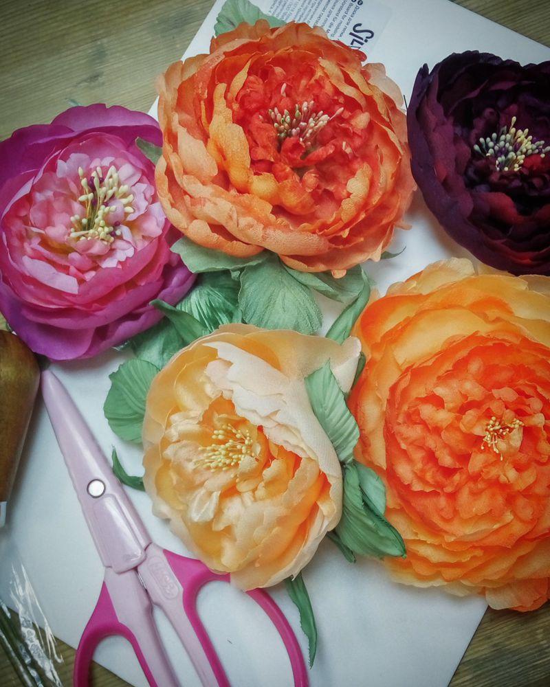 Курс шёлковой флористики. С 15 октября и до мая!, фото № 3
