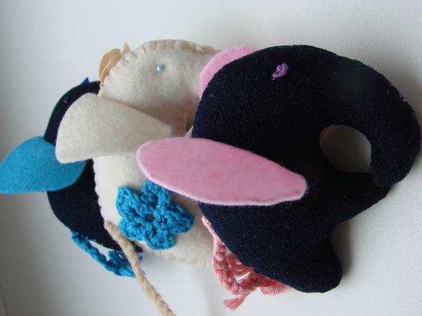 Новое поступления слоников из ткани и фетра. | Ярмарка Мастеров - ручная работа, handmade