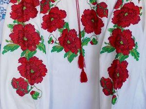 АНОНС:  Белые рубахи с вышивкой