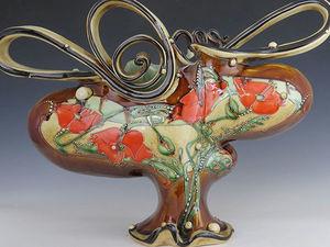 Гармония природы в керамике Carol Long. Ярмарка Мастеров - ручная работа, handmade.