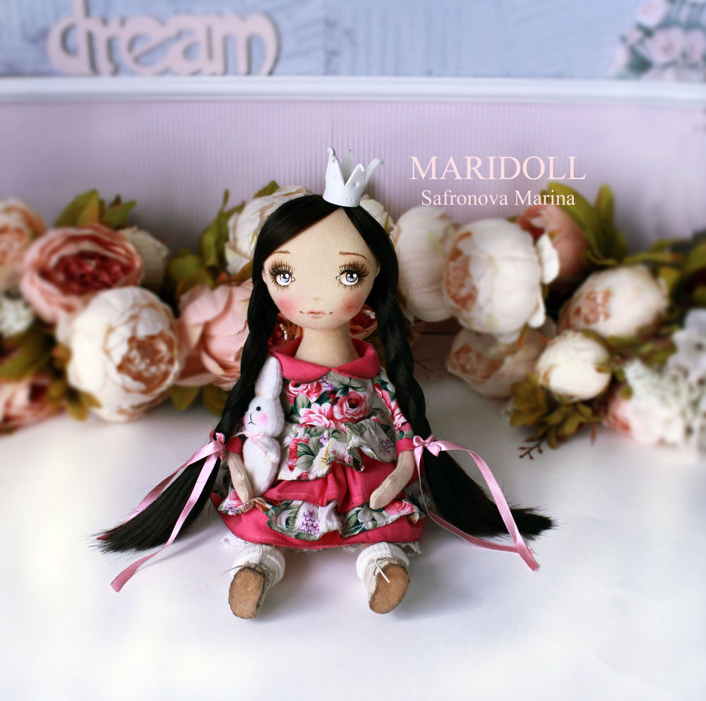 кукла принцесса, сафронова марина куклы, подарок любимой