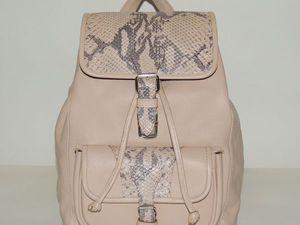 Все больше рюкзаков со скидками!!!   Ярмарка Мастеров - ручная работа, handmade