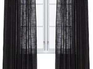 Черные шторы. Ярмарка Мастеров - ручная работа, handmade.