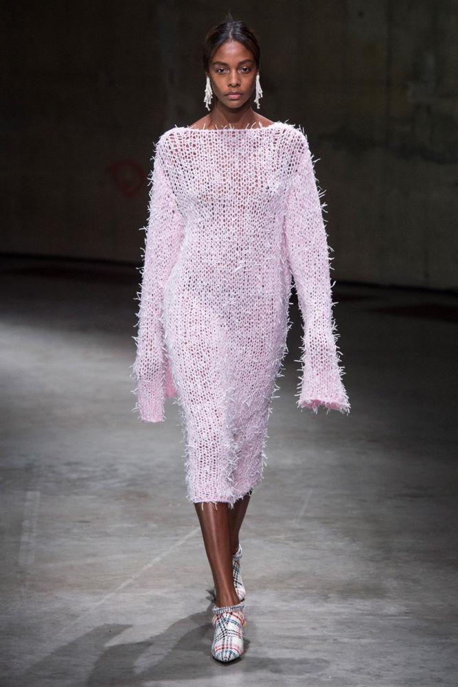 Knitwear Trends Spring-Summer 2018, фото № 11