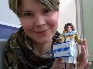ЗАВЕРШЕН! Аукцион с нуля на елочную игрушку из ваты + Розыгрыш | Ярмарка Мастеров - ручная работа, handmade