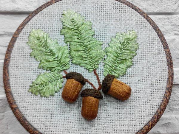 Создаем панно «Осенние желуди» | Ярмарка Мастеров - ручная работа, handmade