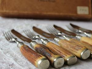 Дополнительные фотографии столовых приборов для мяса. Ярмарка Мастеров - ручная работа, handmade.