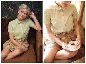 Впервые — шорты! Новая съёмка для любителей рубашек и блузок. Ярмарка Мастеров - ручная работа, handmade.