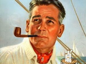 Курительная трубка и реклама. Ярмарка Мастеров - ручная работа, handmade.
