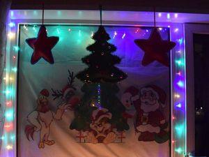 Украшаем окно новогодним декором | Ярмарка Мастеров - ручная работа, handmade