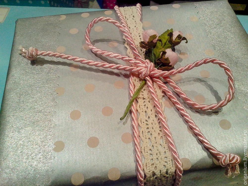 упаковка своими руками, лента, простая упаковка, вдохновение, розовый, decor
