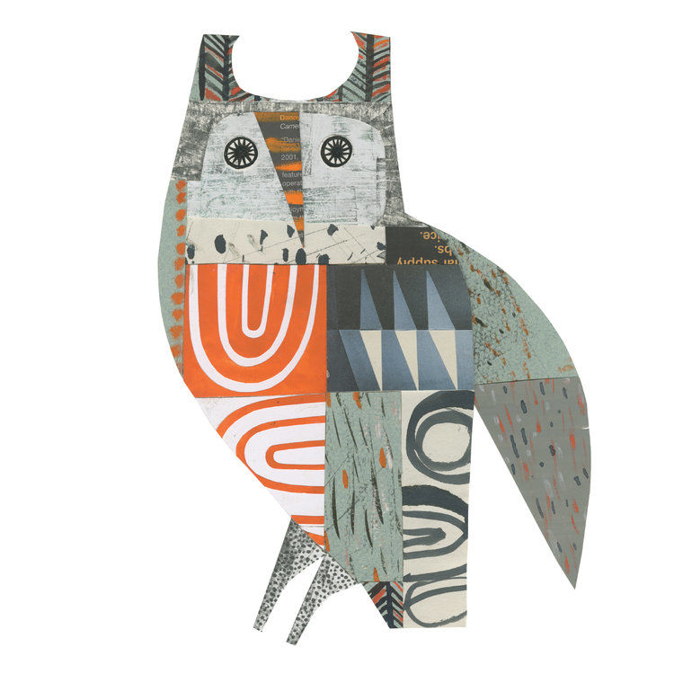 Cheerful Animals of Paper and Fabric by the Designer Clare Youngs, фото № 19