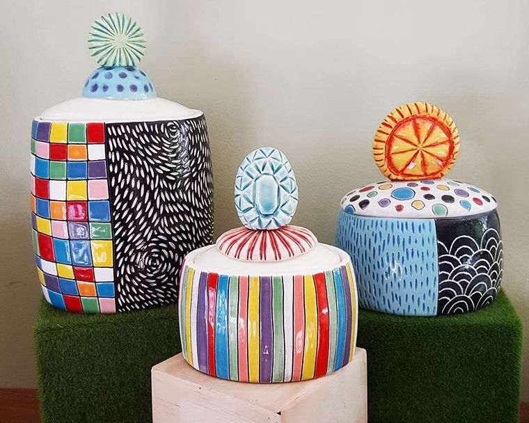 A Love Affair with Clay: Bright Pottery by Charity Hofert, фото № 18