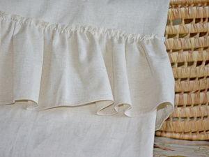 Лето не уходи или шторы с рюшем в стиле Шебби Шик. Ярмарка Мастеров - ручная работа, handmade.