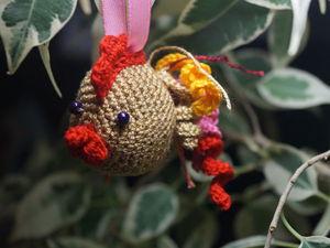 Вяжем Петушка — символ наступающего года. Ярмарка Мастеров - ручная работа, handmade.