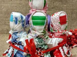 """Народные куклы """"Вера, Надежда, Любовь"""". Ярмарка Мастеров - ручная работа, handmade."""
