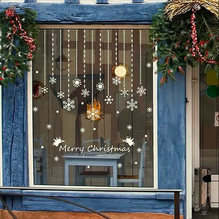 How to Decorate Windows for New Year: 20 Great Ideas, фото № 14